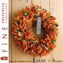 オータム輸入リース【Lサイズ】約33cmの秋にぴったりなリース。ハロウィン飾り/ドライリース/ナチュラルリース