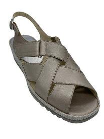 【アシックス ペダラ】PEDALA 1212A050 250 サンダル ウォーキング 3E シンプル 脱げにくい 履きやすい 疲れにくい 軽い 婦人靴 天然皮革お散歩に ウォーキングに 旅行に カラー フロステッドアーモンド レディース 靴