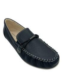 【アシックス ペダラ】PEDALA 1212A063 400 ウォーキング 3E シンプル 脱げにくい 履きやすい 疲れにくい 軽い 婦人靴 天然皮革お散歩に ウォーキングに 旅行に カラー ネイビー レディース 靴  スリッポン