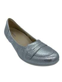【アシックス ペダラ】PEDALA 1212A110 020 ウォーキング 2E シンプル 脱げにくい 履きやすい 疲れにくい 軽い 婦人靴 天然皮革お散歩に ウォーキングに 旅行に カラー シルバー レディース 靴  スリッポン
