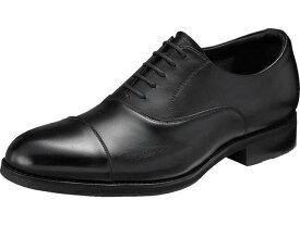 アシックス ランウォーク ビジネスシューズ WR819P 3E シンプル 歩きやすい 履きやすい 疲れにくい 日本製 ストレートチップ フォーマル 紳士靴 防水 ゴアテックス 天然皮革 牛革 カラー ブラック 靴 メンズ