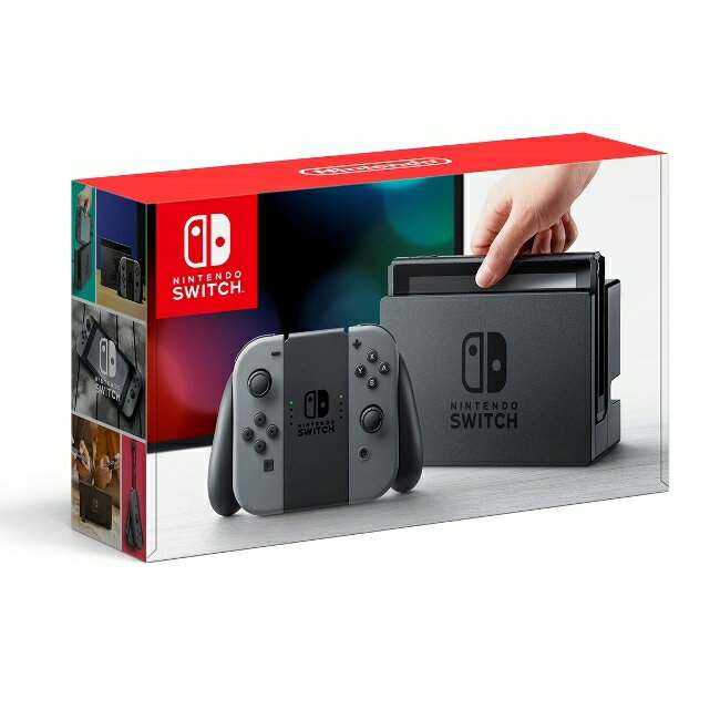 G【あす楽】★Nintendo Switch Joy-Con(L)/(R) グレー 任天堂 4902370535709