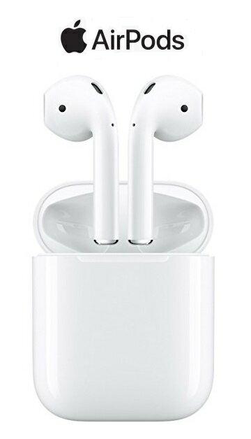 【あす楽】【新品/正規品】Apple AirPods(エアポッズ)MMEF2J/A【アップル純正ワイヤレスイヤホン】