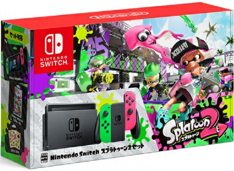 Nintendo Switch スプラトゥーン2セット 任天堂 4902370537338