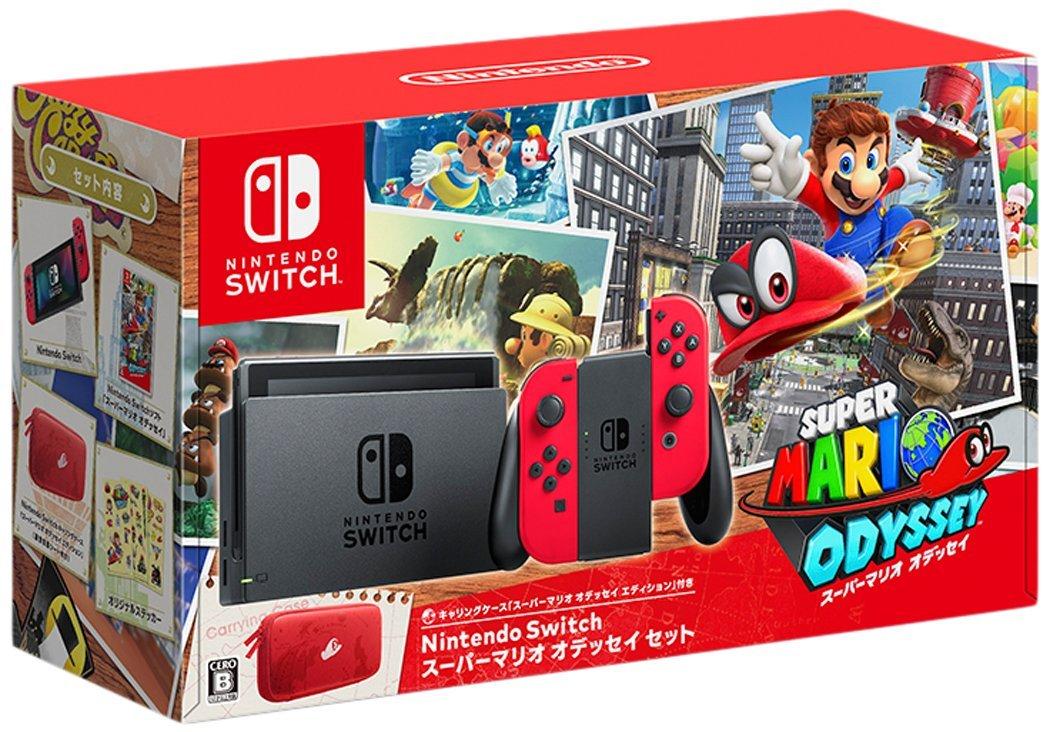10/27発売★Nintendo Switch スーパーマリオ オデッセイセット 任天堂 4902370537772