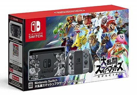 11/16発売 Nintendo Switch 大乱闘スマッシュブラザーズ SPECIALセット 任天堂 4902370540024★スマブラ