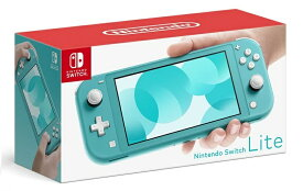 LT★【キャッシュレス5%還元対象】 Nintendo Switch Lite ターコイズ 任天堂【小さく、軽く、持ち運びやすい。携帯専用のNintendo Switch】 HDH-S-BAZAA 4902370542943 スイッチライト