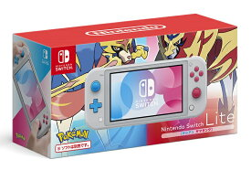【キャッシュレス5%還元対象】Nintendo Switch Lite ザシアン・ザマゼンタ 任天堂 4902370544091 スイッチライト