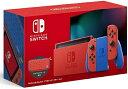 マ【あす楽】2/12発売【新モデル】Nintendo Switch マリオレッド×ブルー セット【マリオをモチーフにした特別デザイン】任天堂 HAD-S-…