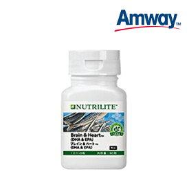 アムウェイ AMWAY ニュートリライト ブレイン&ハート(DHA&EPA)[栄養補給食品] 賞味期限:半年以上