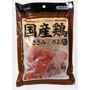 ★★最大350円OFFクーポン★★アスク 国産鶏ささみ&ガム ミニ 16本