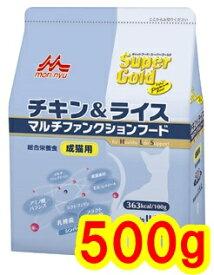 森乳サンワールド ワンラック スーパーゴールド チキン&ライス 成猫用 500g