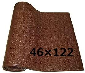 マルチマット ムニュ ブラウン 466x122cm 床暖房OK♪( MUNYUペットマット 介護 衝撃吸収 すべり止め 防音 ベッド 床 保護 滑り止め)