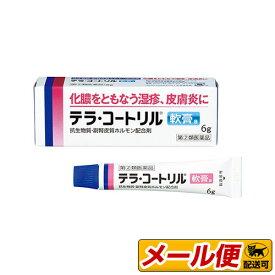 【指定第2類医薬品】【1個までネコポス配送可】 テラ・コートリル軟膏a 6g