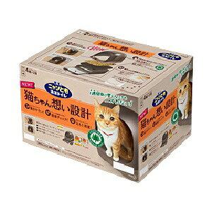 【花王】 ニャンとも清潔トイレセット ブラウン ドームタイプ 1セット 【日用品】