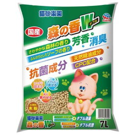 【アース・ペット】 猫砂楽園 森の香ダブル 7L 【日用品】