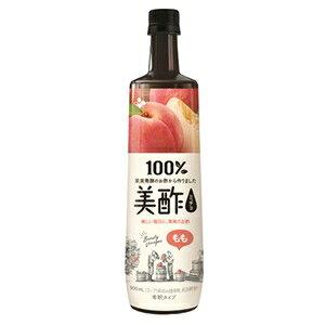 【シージェイジャパン】 美酢 (ミチョ) もも 900mL 【フード・飲料】