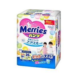 【花王】 メリーズパンツ さらさらエアスルー ビッグより大きいサイズ (15〜28kg) 26枚入 【衛生用品】