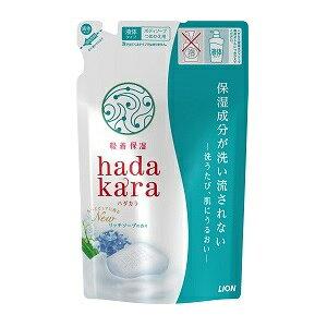【ライオン】 hadakara(ハダカラ)ボディソープ リッチソープの香り (つめかえ用) 360ml 【日用品】