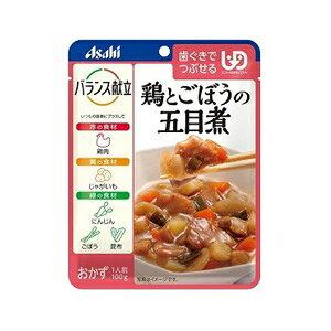 【アサヒ】 バランス献立 鶏とごぼうの五目煮 100g 【フード・飲料】