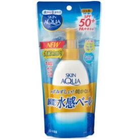 【ロート製薬】 スキンアクア スーパーモイスチャージェル ポンプ 140g SPF50+/PA++++ (顔・からだ用) 【化粧品】