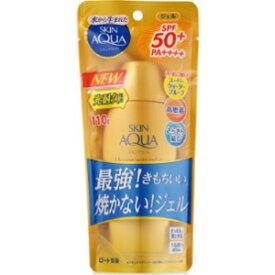 【ロート製薬】 スキンアクア スーパーモイスチャージェルゴールド 110g SPF50+/PA++++ (顔・からだ用) 【化粧品】