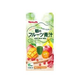 【あす楽対応】「ヤクルトヘルスフーズ」 朝のフルーツ青汁 7g×15袋入 「健康食品」