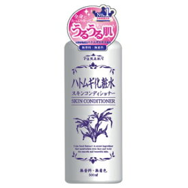 【HADARIKI】 スキンコンディショナー ハトムギ化粧水 500mL 【化粧品】