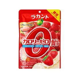 ラカント カロリーゼロ飴 いちごミルク味 60g