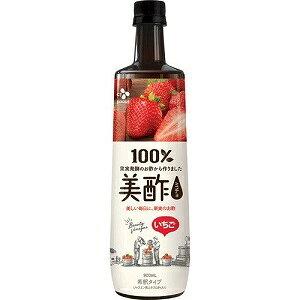 【CJ FOODS JAPAN】 美酢 (ミチョ) いちご 希釈タイプ 900mL 【フード・飲料】