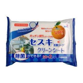 -【友和】 セスキ炭酸ソーダクリーンシート キッチン周り&テーブル用 22枚入 【日用品】