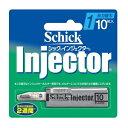 【シック】 インジェクター 1枚刃 替刃10枚入 【化粧品】