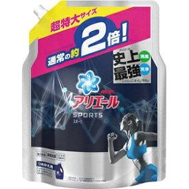 【P&G】 アリエール イオンパワージェル プラチナスポーツ つめかえ用 超特大サイズ 1.34kg 【日用品】