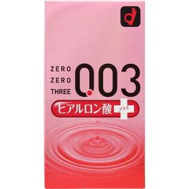 【オカモト】オカモト ゼロゼロスリー ヒアルロン酸プラス 10個入【お一人様5個まで】