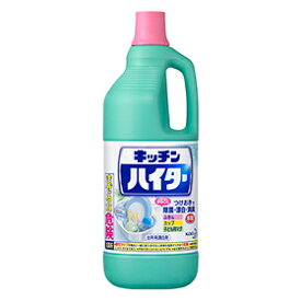 -【花王】 キッチンハイター 大 1500ml 【日用品】