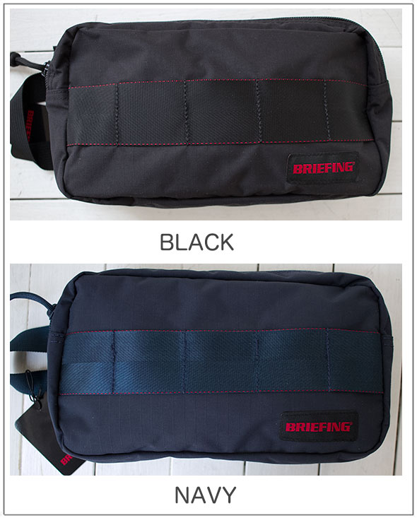 BRIEFING(ブリーフィング)ONE ZIP POUCH MWワンジップポーチ