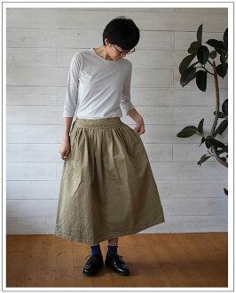 TIGRE BROCANTE (ティグルブロカンテ) Waist Gather Skirt waist gathered skirt