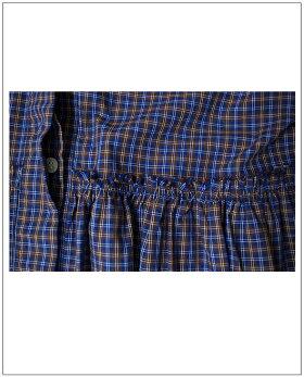 TIGREBROCANTE(ティグルブロカンテ)切替ギャザー五分袖ワンピース