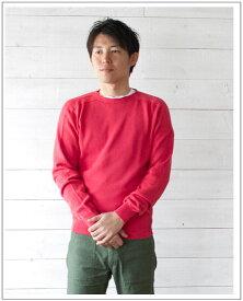 INVERALLAN(インバーアラン)クルーネックコットンセーター(Men's)【正規品】2019年春夏最新作