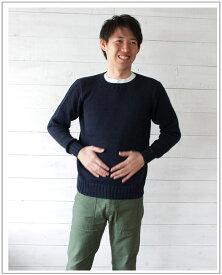 INVERALLAN(インバーアラン)クルーネックコットンセーター(Men's)【正規品】