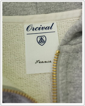 ORCIVAL(オーチバル)フレンチテリースウェットパーカー[Lady's]