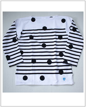 ドットバスクシャツ