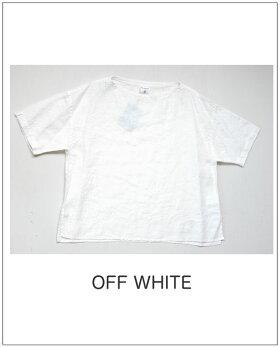 ボートネック半袖シャツ