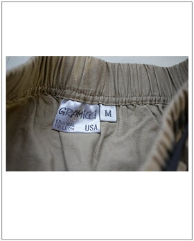 GRAMICCI(グラミチ)LINENCOTTTONTIERDSKIRTコットンリネンティアードスカート