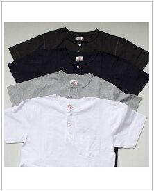 felco(フェルコ)フェルコxヘルスニット ポケット付きヘンリーネック半袖Tシャツ