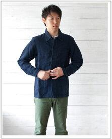 VETRA(ベトラ)リネンカバーオールジャケット[Men's]