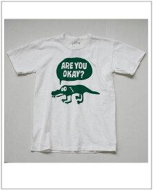 ENTRY SG(エントリーSG)スタジオアティックデザインARE YOU OKAY?FINE別注プリント半袖Tシャツ
