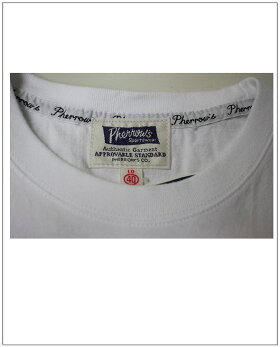 Pherrow's(フェローズ)プリントTシャツLongBeach/ロングビーチ