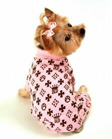 【HIP DOGGIE】冬物20%OFFアウトレット HD Crown Longjhns XS-M 犬 服 小型 子犬 中型 おしゃれ かわいい 防寒 暖かい フリース 秋 冬 10HDB 10HDP