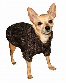 【HIP DOGGIE】冬物20%OFFアウトレット Angora Cable Knit XS-M 犬 服 小型 子犬 中型 おしゃれ かわいい 防寒 暖かい セーター ケーブルニット 秋 冬 7ACS 7ACB